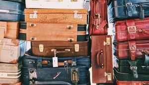 Stapel Koffer