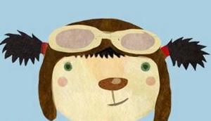 Zeichnung von Igelmädchen mit Sonnenbrille