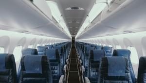 leeres Flugzeug