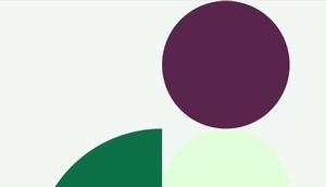 """abstrakte Figur, Logo der Seite """"Ein Bild von mir ist im Internet"""", Ausschnitt"""
