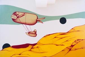 MiniXplore Graffiti des Street-Art-Künstlers RUIN, © Technisches Museum