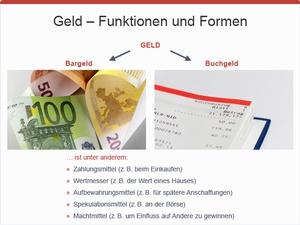Geldfunktionen und Formen, © bmasgk/fridrich/oegwm