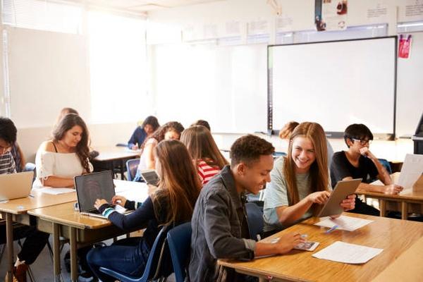 Unterricht im Klassenzimmer, © monkeybusinessimages