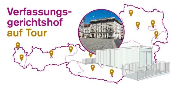 Verfassungsgerichtshof on Tour, © vfgh on tour_werbebanner