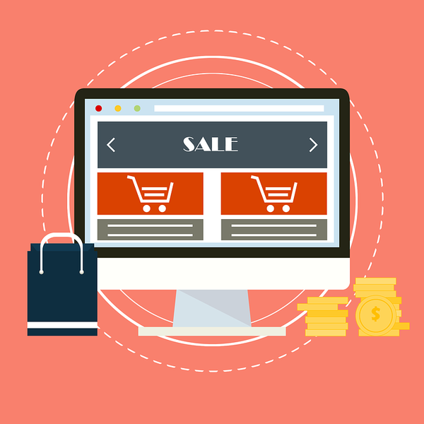Online-Shopping, © Bild von ReaxionLab auf Pixabay