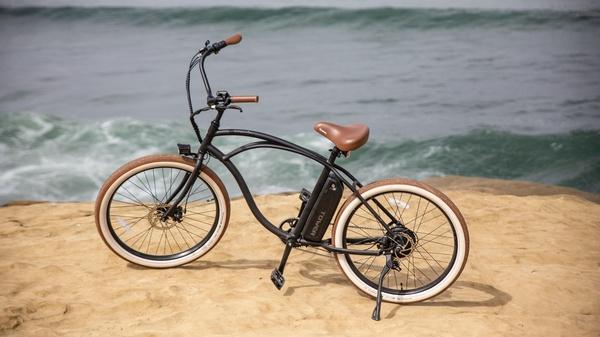 E-Bike am Strand , © tower-electric-bikes @unsplash