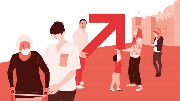 Abb. zur Veranstaltung, Zeichnung von verschiedenen Personen aller Altersgruppen, © vzbv, DMKZWO