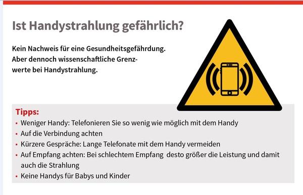 Ist Handystrahlung gefährlich?, © sozialministerium/shw