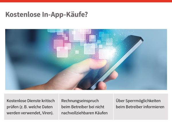 Kostenlose In-App-Käufe?, © sozialministerium/shw