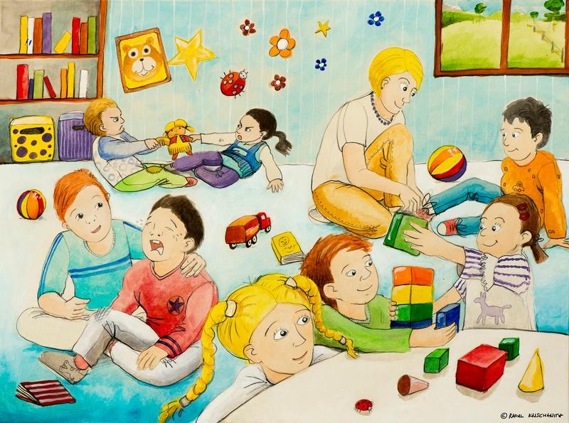Bild 4: Kindergartengruppe, © Raoul Krischanitz