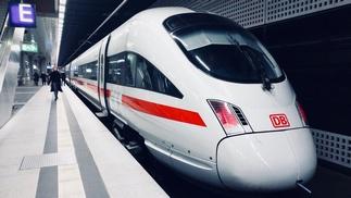 Zug der Deutschen Bahn