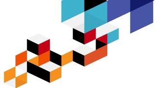 Illustration zur Studie, abstraktes Muster